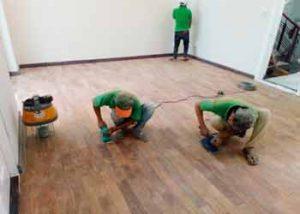 dịch vụ đánh bóng sàn gỗ 2