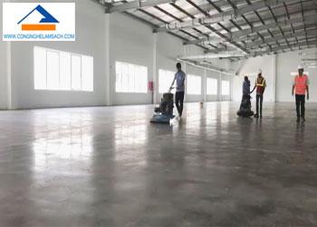 dịch vụ đánh bóng sàn bê tông nền bê tông-công-nghệ-làm-sạch