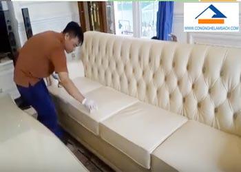Bảng giá dịch vụ vệ sinh ghế Sofa da, ghế Salon da