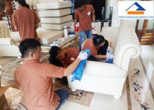 dịch vụ vệ sinh giặt ghế sofa-công-nghệ-làm-sạch