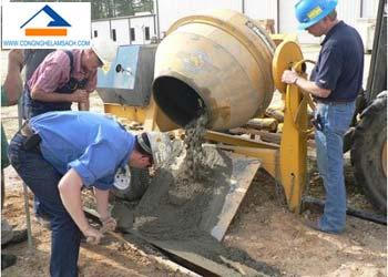 công thức trộn bê tông theo đúng mác bê tông-công-nghệ-làm-sạch