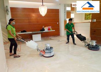 Dịch vụ đánh bóng sàn đá Marble nhà xưởng-công-nghệ-làm-sạch