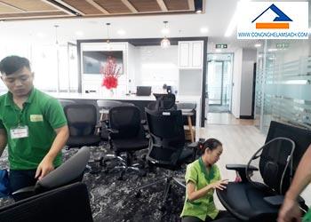 dịch vụ giặt ghế văn phòng vải lưới-công-nghệ-làm-sạch