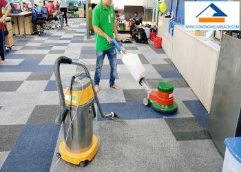 Dịch vụ giặt Thảm văn phòng-công-nghệ-làm-sạch