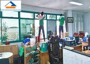 dịch vụ lau kính văn phòng, kính nhà ở, kính cửa hàng, kính showroom