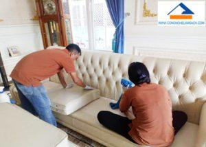 dịch vụ sửa chữa sơn ghế Sofa da ghế Salon da-công-nghệ-làm-sạch
