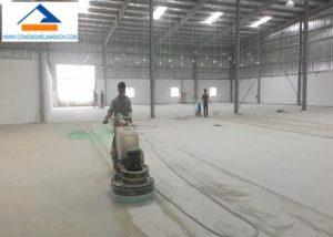 mài sàn bê tông sơn Epoxy sàn nhà xưởng-công-nghệ-làm-sạch