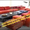 Nhuộm màu ghế Sofa da, ghế Salon da